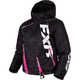 Youth Black Digi/Electric Pink Boost Jacket