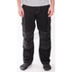 Black Workwear Cargo Pants