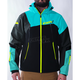Black/Blue/Hi-Vis Renegade Softshell Jacket