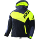Child's Black Charcoal/Hi-Vis Squadron Jacket
