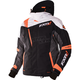 Black/Charcoal/White Weave/Orange Mission X Jacket
