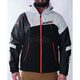Black/Charcoal/White/Orange Renegade Softshell Jacket