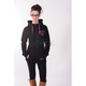 Women's Black/Fuchsia Factory Ride Hoody