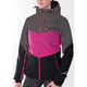 Women's Black/Fuchsia Fresh Softshell Jacket