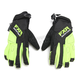 Black/Hi-Vis Attack Lite Gloves