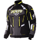 Black/Hi-Vis/Charcoal Adrenaline XPE 3 in 1 Jacket