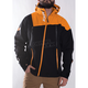 Black/Orange Mission Trilaminate Shell Jacket