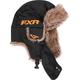 Black/Orange Trapper Hat
