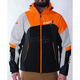 Black/Orange/Charcoal/White Renegade Softshell Jacket