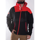 Black/Red Mission Trilaminate Shell Jacket