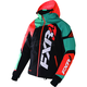 Black/Teal/Orange Revo X Jacket