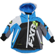 Child's Black/White Weave/Blue Revo X Jacket