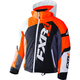 Youth Black/White Weave/Flo Orange Revo X Jacket