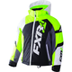 Youth Black/White Weave/Lime Revo X Jacket