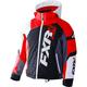 Child's Black/White Weave/Red Revo X Jacket