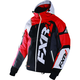 Black/White Weave/Red Revo X Jacket