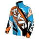 Blue/Orange/Black/White Cold Cross Race Ready Jacket