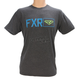 Charcoal Heather/Blue Terminal Tech T-Shirt