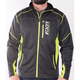 Charcoal Heather/Hi-Vis Elevation Tech Zip Up