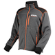 Charcoal/Black/Orange Trekker Sherpa Tech Zip-Up