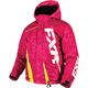 Child's Electric Pink Digi/Hi-Vis Boost Jacket