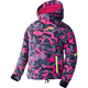 Youth Fuchsia Urban Camo/Hi-Vis Fresh Jacket