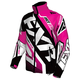 Fuchsia/Black/White Cold Cross Race Ready Jacket