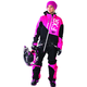 Fuchsia/Black/White Insulated Squadron Monosuit