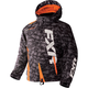 Youth Gray Digi/Orange Boost Jacket