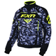 Gray Urban Camo/Black/Hi-Vis Octane Jacket