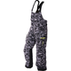 Gray Urban Camo/Hi-Vis Excursion Bibs