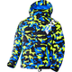 Youth Hi-Vis/Blue Urban Camo Squadron Jacket
