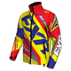 Hi-Vis/Nuke Red/Royal Blue Cold Cross Race Ready Jacket