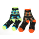 Multi Color Camo Turbo Athletic Socks - 171640-6506-00