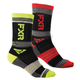 Multi Color Turbo Athletic Socks - 171640-3065-00