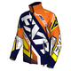 Navy/Orange/Hi-Vis Cold Cross Race Ready Jacket