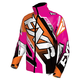 Orange/Fuchsia/White Cold Cross Race Ready Jacket