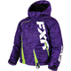 Child's Purple Digi/Lime Boost Jacket