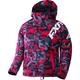 Youth Red Urban Camo/White Squadron Jacket