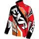 Red/Orange/Black/White Cold Cross Race Ready Jacket