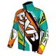 Teal/Orange/Hi-Vis Cold Cross Race Ready Jacket