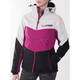 Women's Wineberry/Black/White Tri Fresh Softshell Jacket