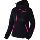 Women's  Black Tri/Fuchsia/Electric Tangerine Vertical Pro Jacket