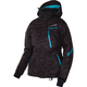 Women's Black Urban Camo/Aqua Fresh Jacket