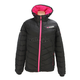 Women's Black/Electric Pink Elevation Down Jacket