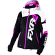 Women's Black/White Tri/Fuchsia Revo X Jacket