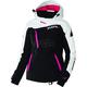 Women's Black/White Tri/Fuchsia Vertical Pro Jacket