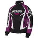 Women's Black/Wineberry/White Tri Team Jacket
