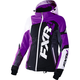 Women's Black/Wineberry/White Tri Revo X Jacket