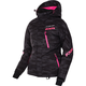 Women's Charcoal Cascade/Electric Pink Fresh Jacket